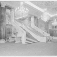 Capitol Theater, 51st St. and Broadway, New York. Foyer