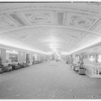 Capitol Theater, 51st St. and Broadway, New York. Mezzanine