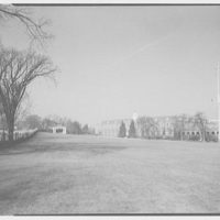 Coast Guard Academy, New London, Connecticut. General view to flagpole II