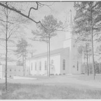 First Methodist Church, Elkin, North Carolina. General view from northeast