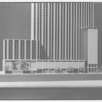 Lapidus, Kornblath, Harle and Liebman. Wris Building, model II