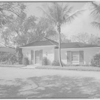 Mr. and Mrs. George Ed. Hackney, residence in Hobe Sound, Florida. General exterior