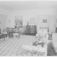 Mr. and Mrs. George Ed. Hackney, residence in Hobe Sound, Florida. Living room I