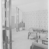 Mr. and Mrs. M. Lerner, residence on Birmington Pkwy., Bayside, Long Island. Living room II
