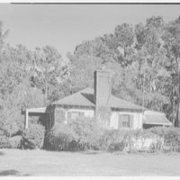 Mrs. Reynolds Bagley, Musgrove Plantation, residence on St. Simons Island, Georgia. Alfred Drage's house