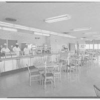 Public Service of New Jersey, Bergen station. Cafeteria II