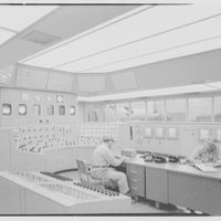 Public Service of New Jersey, Bergen station. Control room, to generators