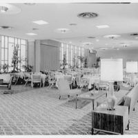 Traffic Club, 15 Vanderbilt Ave., New York City. General view, large dining room