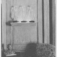 W. Alton Jones, residence at 1 Sutton Pl., New York. Steuben glass II, in living room