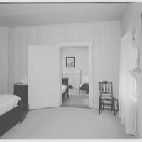 Andrew Johnson, residence in Greeneville, Tennessee. Guest room, to child's room