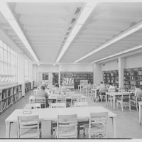 Charles S. Colden Auditorium and School, Queens College. Music library