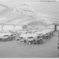 Cold Spring Country Club, Cold Spring, Long Island, New York. Dining room I