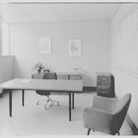 Edo Corporation, College Point, Long Island. Mr. Bostwick's office