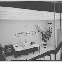 Edo Corporation, College Point, Long Island. Reception office