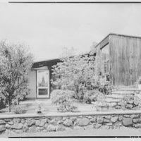 Fellowes Davis, residence at 442 Locust St., Danvers, Massachusetts. Entrance