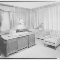 Franklin National Bank, Franklin Square, Long Island. Mr. Becht's office I
