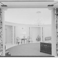 Franklin National Bank, Franklin Square, Long Island. Reception foyer