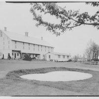General Dwight D. Eisenhower, residence in Gettysburg. Barn