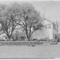 General Dwight D. Eisenhower, residence in Gettysburg. General view, rear east facade