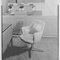 Hanover Bank, 350 Park Ave., New York City. Chair detail