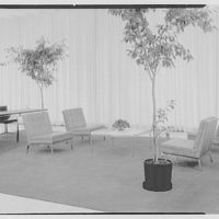 Hanover Bank, 350 Park Ave., New York City. Leather furniture group II