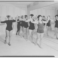Helena Rubinstein, 655 5th Ave., New York City. Gym class II