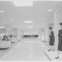Higbee Department Store, business in Cleveland, Ohio. General view, to woman's world