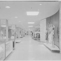 Higbee Department Store, business in Cleveland, Ohio. Long general view, 3rd floor