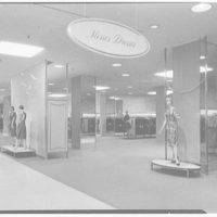 Higbee Department Store, business in Cleveland, Ohio. Misses dresses