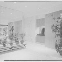 Imperial House lobby, Lexington and 70th St. Office