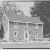 John Adams, residence in Quincy, Massachusetts. Exterior of John Adams I
