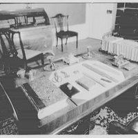John Adams, residence in Quincy, Massachusetts. John Adams chair and desk in study