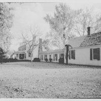 John Tyler, Sherwood Forest, residence in Virginia. General view