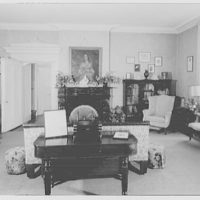 John Tyler, Sherwood Forest, residence in Virginia. To Tyler table and portrait