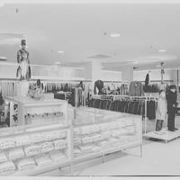Lord & Taylor, business in Millburn, New Jersey. Boys' shop