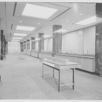 Morgan Guarantee Trust Building, 522 5th Ave., New York. Banking office to fifth avenue