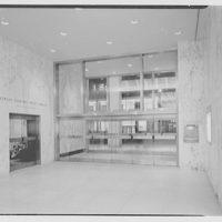 Morgan Guarantee Trust Building, 522 5th Ave., New York. Foyer I