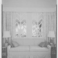 Mr. Thaddeus V. Soshe, residence in Vega Baja. Through window lattice