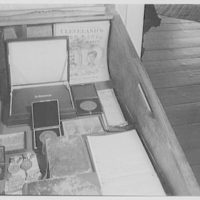 President Grover Cleveland's birthplace, in Caldwell, New Jersey. Cleveland's will, family bible, and various candidate medals