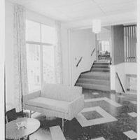 Smith College Faculty Center, Northampton, Massachusetts. Lounge II