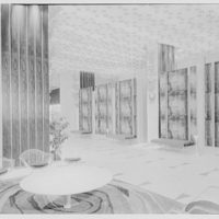 Summit Hotel, Lexington Ave. and 51st St. Entrance lobby, side wall