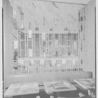 Summit Hotel, Lexington Ave. and 51st St. Gaucho metal screen to bar