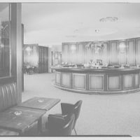 Americana Hotel, 52nd St. and 7th Ave., New York City. Golden Spur bar