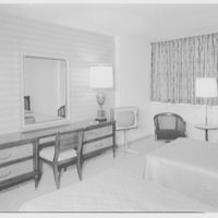 Americana Hotel, 52nd St. and 7th Ave., New York City. Suite 1501, gold room I