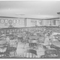Americana Hotel, 52nd St. and 7th Ave., New York City. Wooden Indian bar