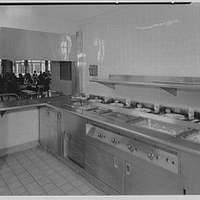 Cardinal Spellman High School, Baychester Ave. and 229th St., Bronx. Kitchen conveyor from inside