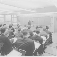 Cardinal Spellman High School, Baychester Ave. and 229th St., Bronx. Lecture room