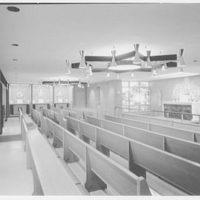 Cardinal Spellman High School, Baychester Ave. and 229th St., Bronx. Second floor chapel