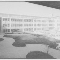 Cardinal Spellman High School. Inside court from above