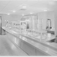 Harry Thompson Junior High School, Syosset, Long Island. Cafeteria, snack service